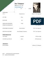 Camden Trimmer - Resume