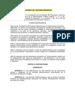 Acuerdo de Telesecundarias