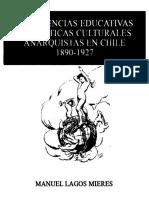 Manuel Lagos Mieres, experiencias educativas y prácticas culturales anarquistas en chile (1890-1927)