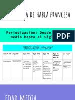 Periodización francesa