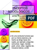 Conceptos Sociológicos