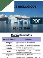 Clase No. 4. Ciclosbiológicos 08-03-2019