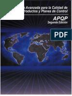 planeación avanzada para la calidad del producto y planes de control