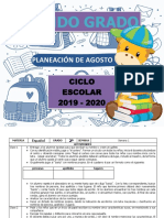 00 Agosto - 2do (2019-2020)