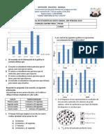Evaluacion Final Estadistica 6º 3er Periodo