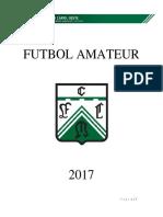Futbol Amateur 2017