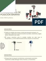 2.1 Sensores y Transmisores