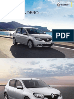 Catálogo Sandero Renault 2019