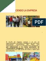 ANÁLISIS INTERNO Y EXTERNO DE UNA EMPRESA