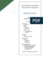 TEMA 2. Historia de La Medicina Legal