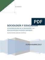 sociologia y educacion