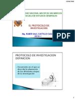 Sesion 11 y 12 Protocolo de Investigacion