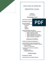 TEMA 3. Lesiones. Traumatologia Forense