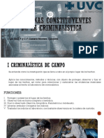 Disciplinas Constituyentes de La Criminalística