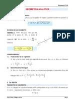 Resumen Geom Anal Tica Prof. Calagua