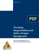 PM4DEV the Roles Responsibilities and Skills (1)