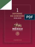 Informe Gobierno de Mexico