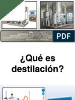 Exposición Destiladores - Andrés f. López
