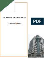 SST-PL-001- Plan de Emergencia Torre Mardel -2018