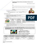 Entrega de Informes Academicos III Periodo 2019