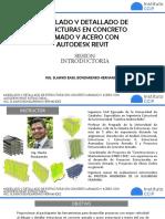 DETALLADO DE ESTRUCTURAS DE CONCRETO CON REVIT - INTRODUCCIÓN
