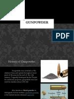 Forensic Ballistics (Gunpowder)