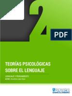 Cartilla - s4 Teorioas Psicologicas Sobre El Lenguaje