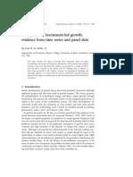 ARB_1999_De_Mello_FDI Led Growth_Evidence from time series Panel Data.pdf