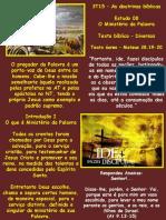 Estudo_08 - Ministerio da Palavra