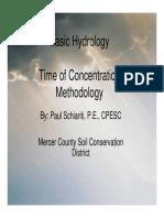 Time OfConcentrationMethodology.pdf