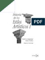 Varios - Historia De Los Estilos Artisticos I.pdf
