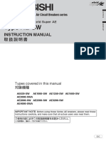 SuperAE-SW - Instruction Manual IB(NA)-63332-B (10.05)