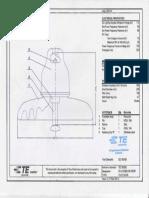Disk Insulator 120 kN