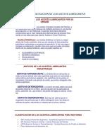 TIPOS Y CLASICICACION DE LOS ACEITES LUBRICANTES.docx