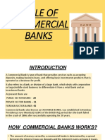 Role of commerical banks in market