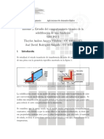 Estudio Del Comportamiento Térmico de La Solidificación de Una Fundición
