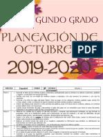 00 Octubre - 2do Grado 2019