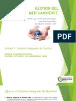 G. Medio Ambiente Unidad 5 - Sistemas Integrados