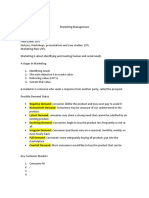 Marketing Management apuntes