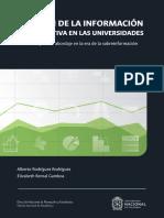 Gestión de la información cuantitativa en la Universidad