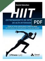 HIIT - Entrenamiento de Intervalos de Alta Intensidad