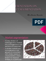 Presentation on Market Segmentation