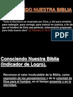 18 Lección Nº 18, Conociendo Nuestra Biblia