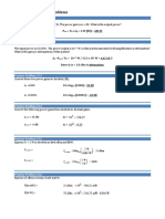 Chapter 23 SOLUTIONS Practice Problems
