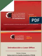 introduccion lean office congreso calidad 2011
