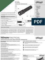 Manual Walther Xenon Tactical