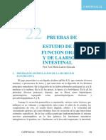 CAP 22. PRUEBAS DE ESTUDIO DE LA FUNCIÓN DIGESTIVA Y DE LA ABSORCION INTESTINAL.docx