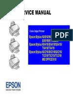Epson Stylus NX510 Service Manual