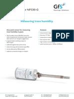Dew Point Sensor NP330 G