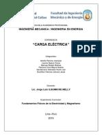 CARGA ELECTRICA. FISICA